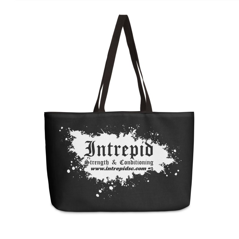 Splatter Accessories Weekender Bag Bag by Intrepid CF Warwick's Artist Shop