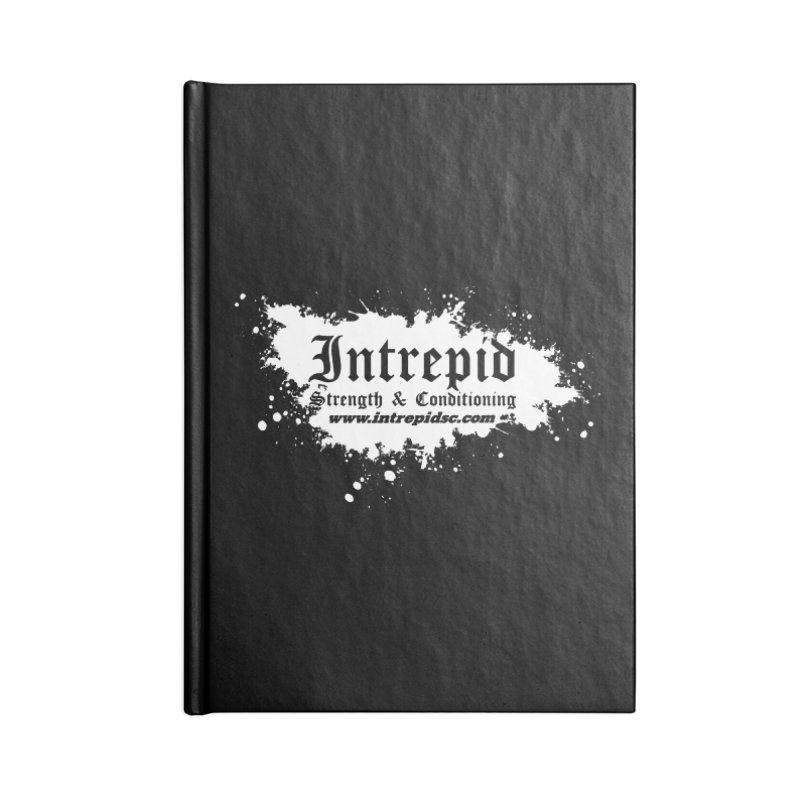 Splatter Accessories Blank Journal Notebook by Intrepid CF Warwick's Artist Shop
