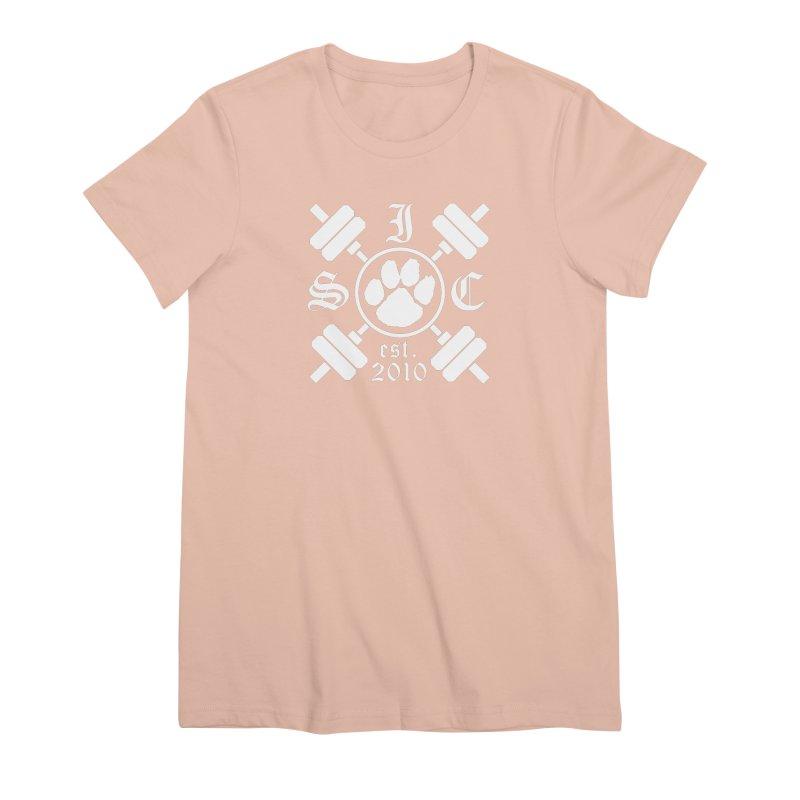 Intrepid Barbells Women's Premium T-Shirt by Intrepid CF Warwick's Artist Shop