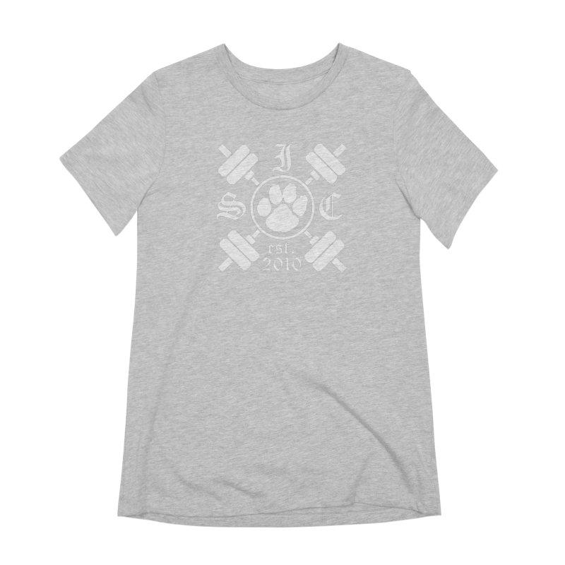 Intrepid Barbells Women's Extra Soft T-Shirt by Intrepid CF Warwick's Artist Shop