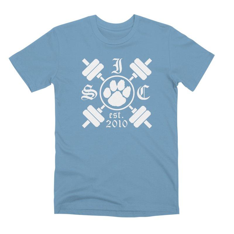 Intrepid Barbells Men's Premium T-Shirt by Intrepid CF Warwick's Artist Shop