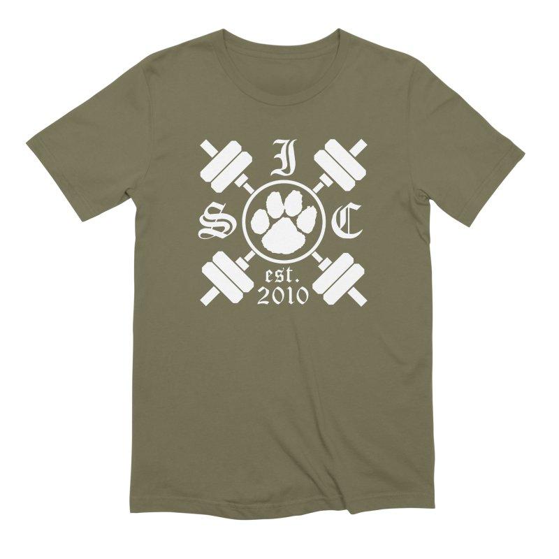 Intrepid Barbells Men's Extra Soft T-Shirt by intrepidcfwarwick's Artist Shop