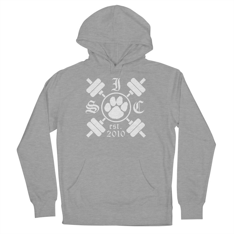 Intrepid Barbells Women's French Terry Pullover Hoody by Intrepid CF Warwick's Artist Shop