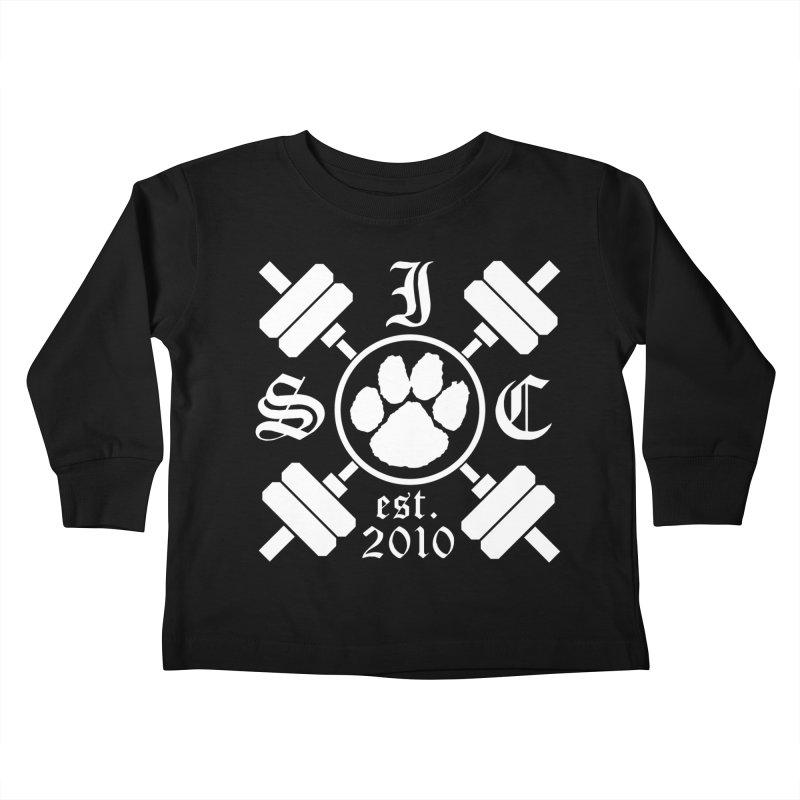 Intrepid Barbells Kids Toddler Longsleeve T-Shirt by intrepidcfwarwick's Artist Shop