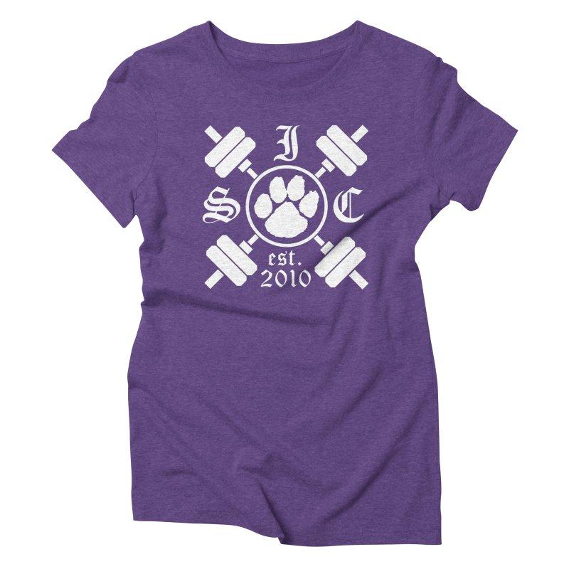 Intrepid Barbells Women's Triblend T-Shirt by intrepidcfwarwick's Artist Shop