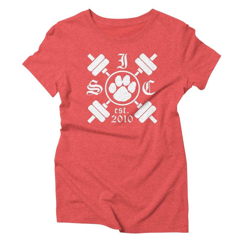 Intrepid Barbells Women's Triblend T-Shirt by Intrepid CF Warwick's Artist Shop