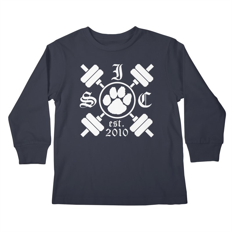 Intrepid Barbells Kids Longsleeve T-Shirt by Intrepid CF Warwick's Artist Shop