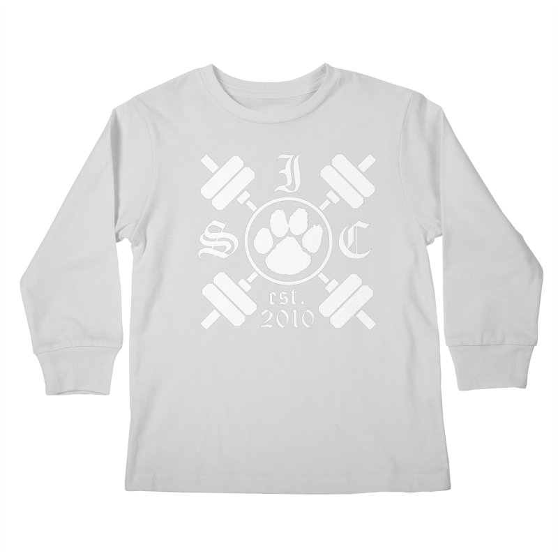 Intrepid Barbells Kids Longsleeve T-Shirt by intrepidcfwarwick's Artist Shop
