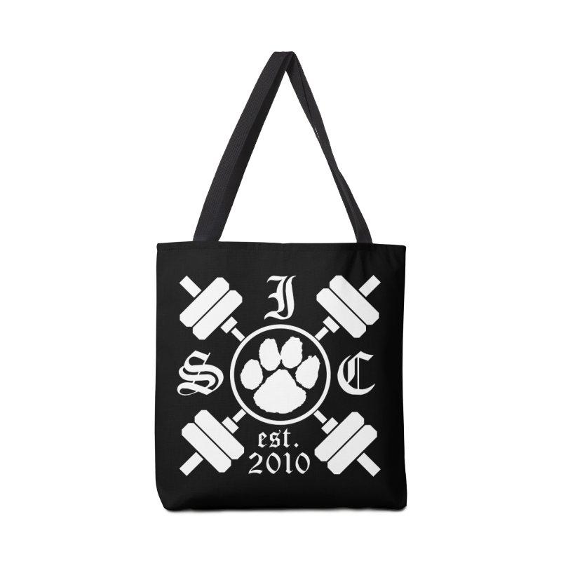 Intrepid Barbells Accessories Tote Bag Bag by Intrepid CF Warwick's Artist Shop