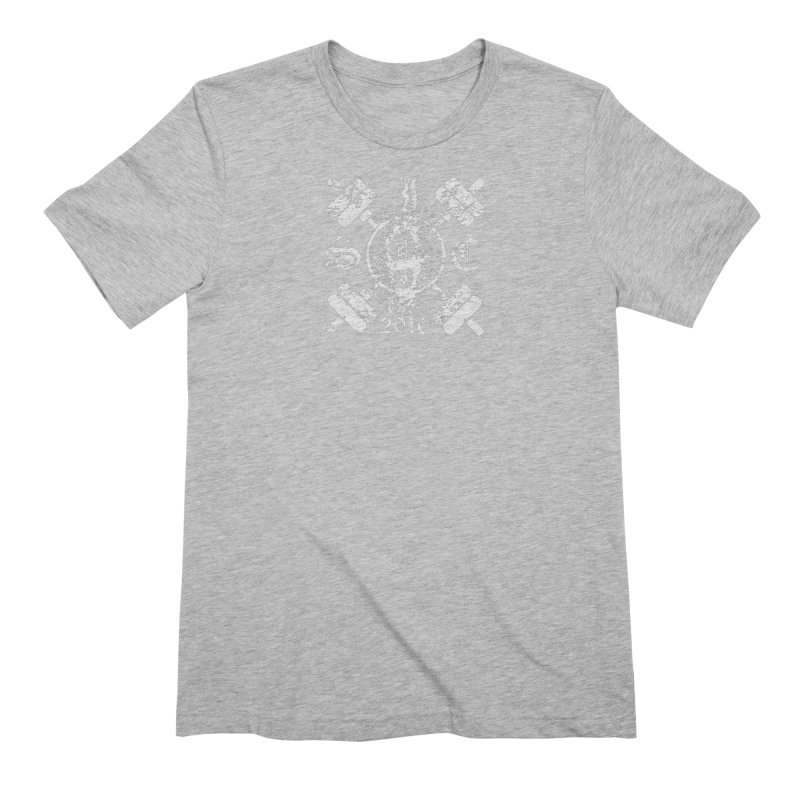 Intrepid Army White Men's Extra Soft T-Shirt by Intrepid CF Warwick's Artist Shop