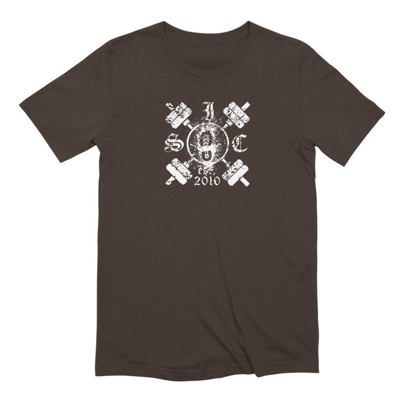 Intrepid Army White Men's Extra Soft T-Shirt by Intrepid CF Warwick's Artist Shop
