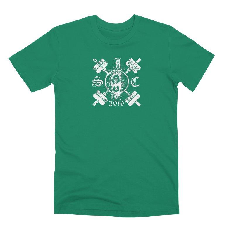 Intrepid Army White Men's Premium T-Shirt by Intrepid CF Warwick's Artist Shop