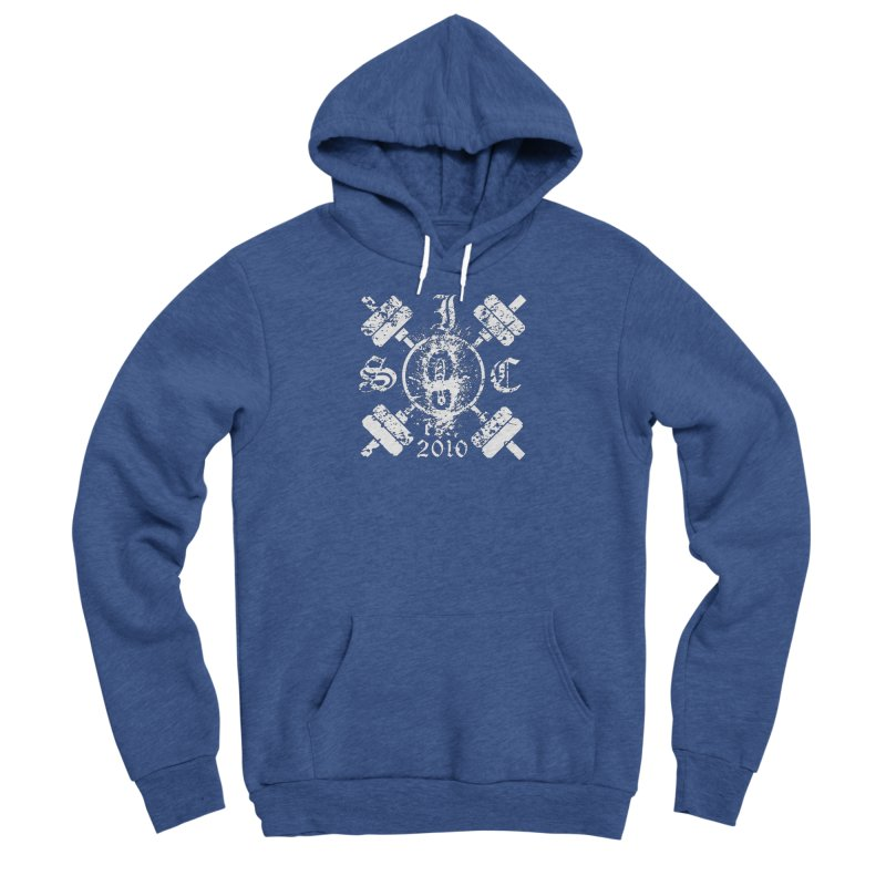 Intrepid Army White Men's Sponge Fleece Pullover Hoody by Intrepid CF Warwick's Artist Shop