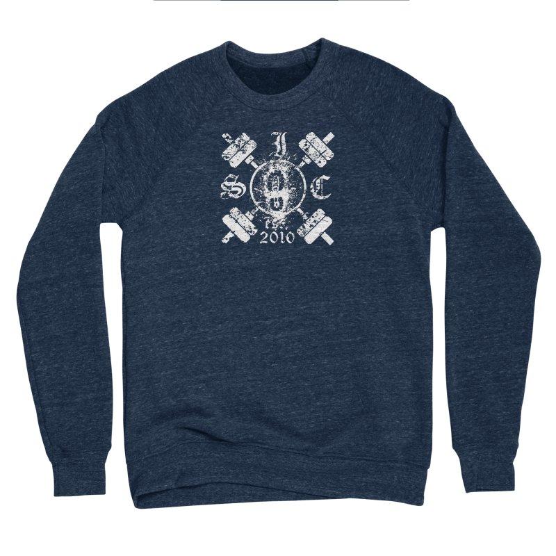 Intrepid Army White Women's Sponge Fleece Sweatshirt by Intrepid CF Warwick's Artist Shop