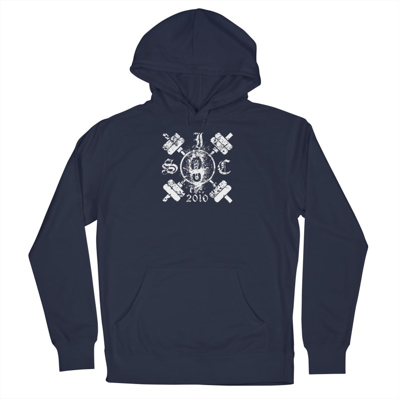 Intrepid Army White Women's French Terry Pullover Hoody by Intrepid CF Warwick's Artist Shop