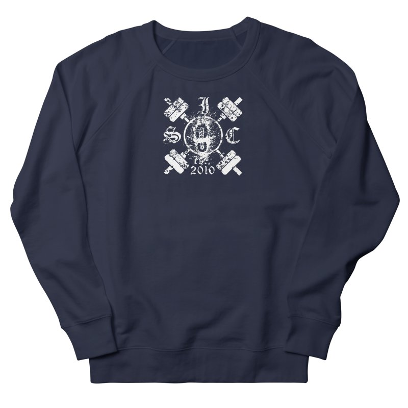 Intrepid Army White Women's French Terry Sweatshirt by Intrepid CF Warwick's Artist Shop