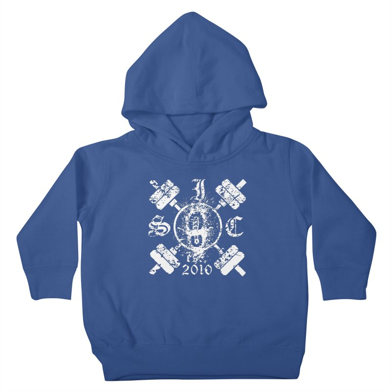 Intrepid Army White Kids Toddler Pullover Hoody by intrepidcfwarwick's Artist Shop