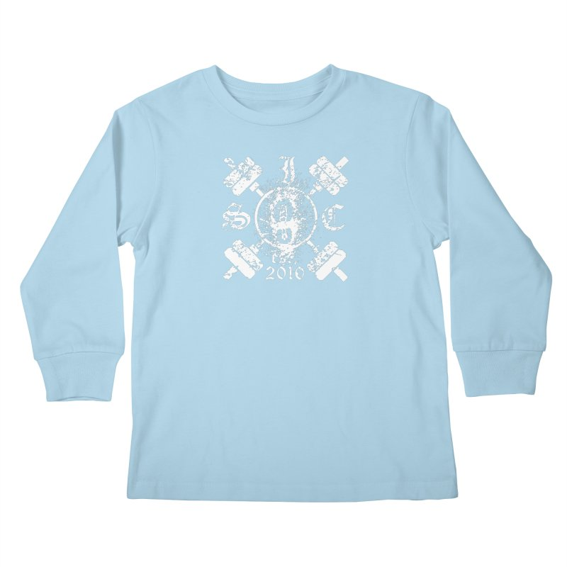 Intrepid Army White Kids Longsleeve T-Shirt by Intrepid CF Warwick's Artist Shop