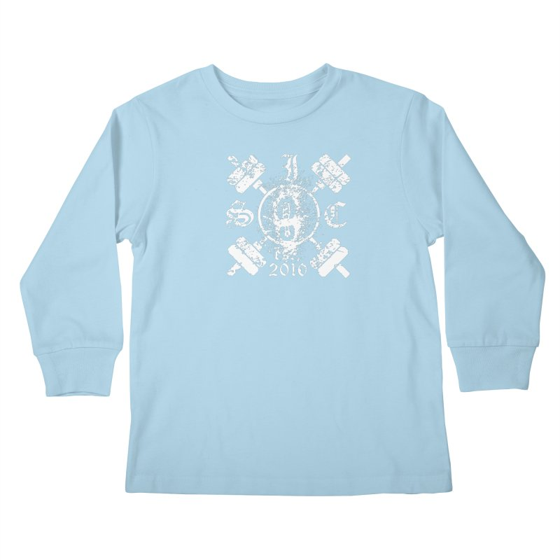 Intrepid Army White Kids Longsleeve T-Shirt by intrepidcfwarwick's Artist Shop