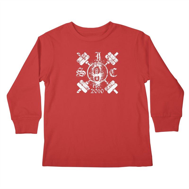 Intrepid Army White Kids Longsleeve T-Shirt by Intrepid CF Warwick's Artist Shop