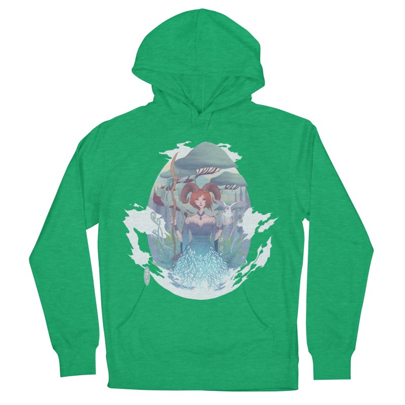 Guardian of the Forest Women's Pullover Hoody by cherished