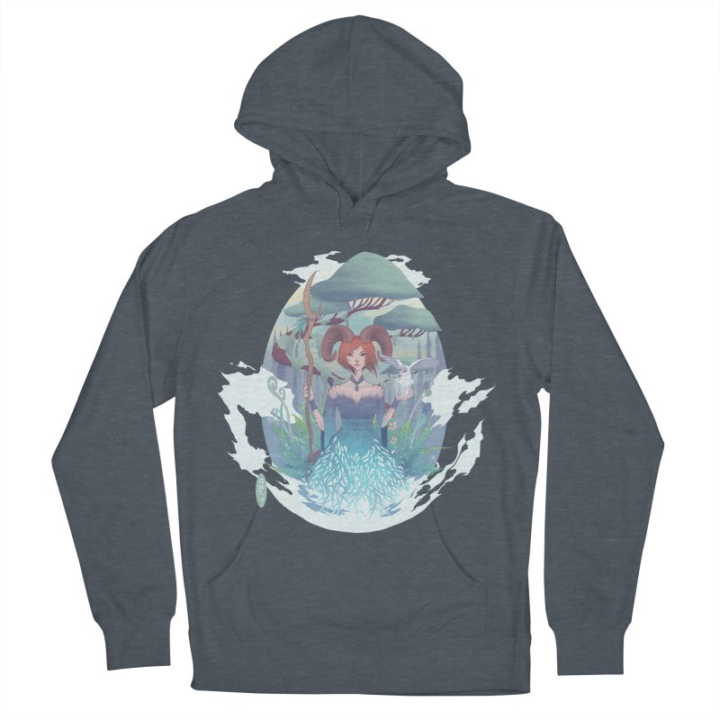 Guardian of the Forest Men's Pullover Hoody by cherished