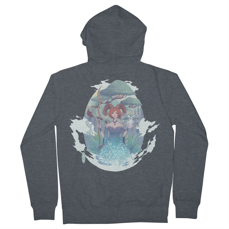 Guardian of the Forest Women's Zip-Up Hoody by cherished