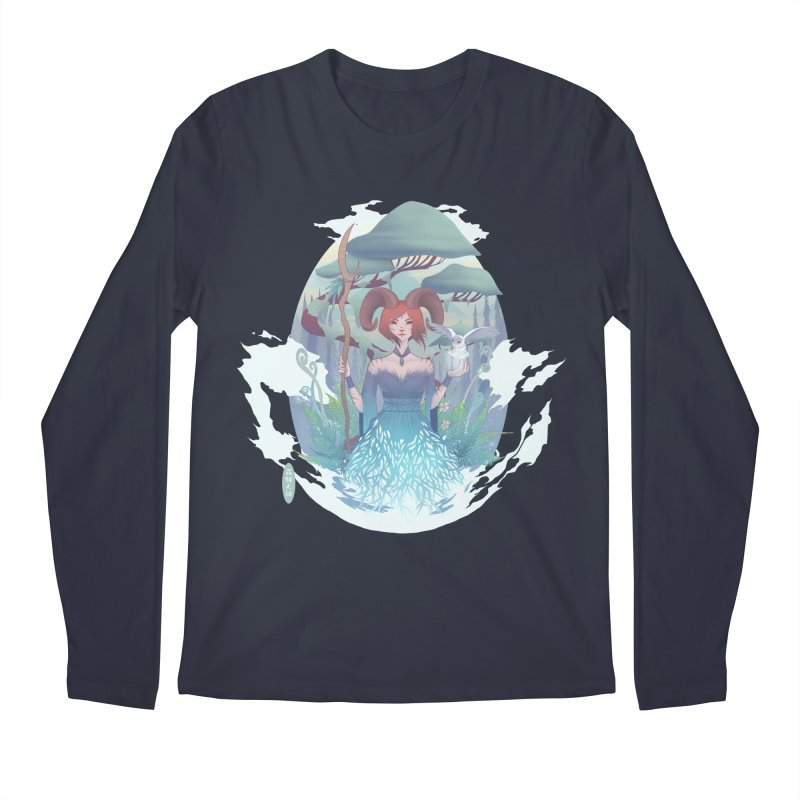 Guardian of the Forest Men's Longsleeve T-Shirt by cherished