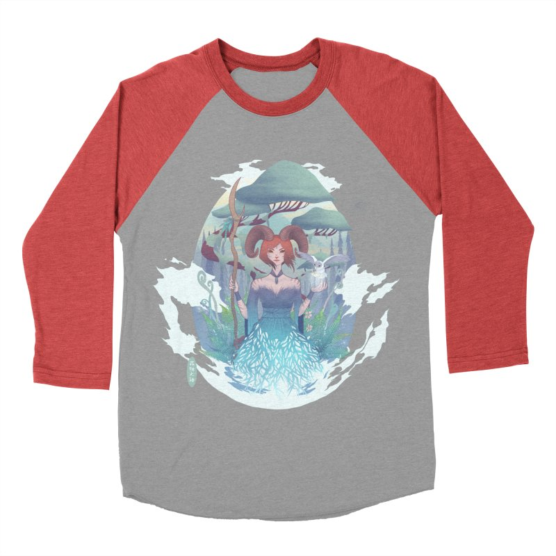 Guardian of the Forest Women's Baseball Triblend T-Shirt by cherished