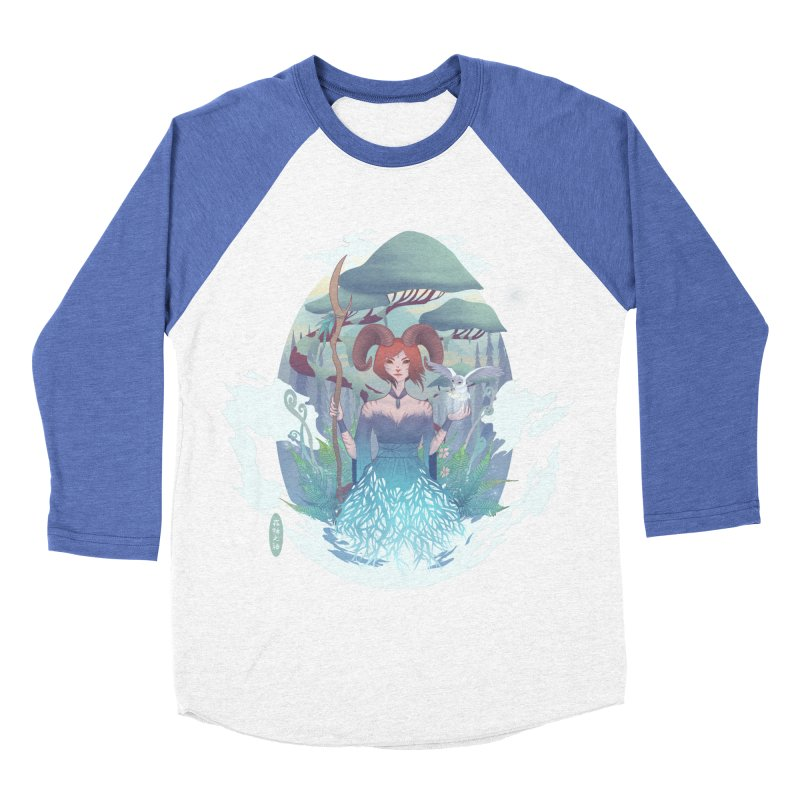 Guardian of the Forest Men's Baseball Triblend T-Shirt by cherished