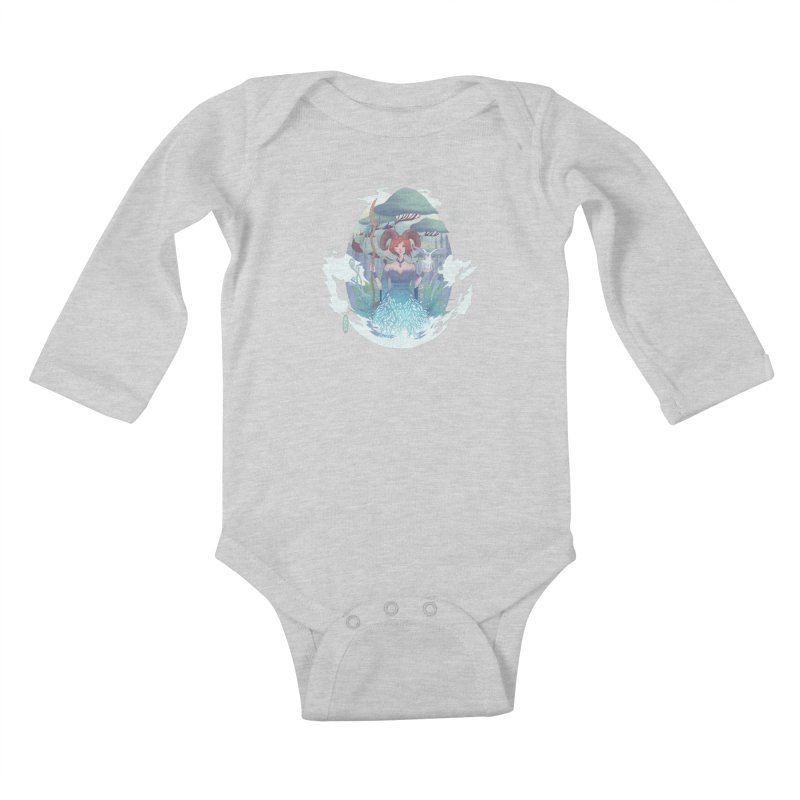 Guardian of the Forest Kids Baby Longsleeve Bodysuit by cherished