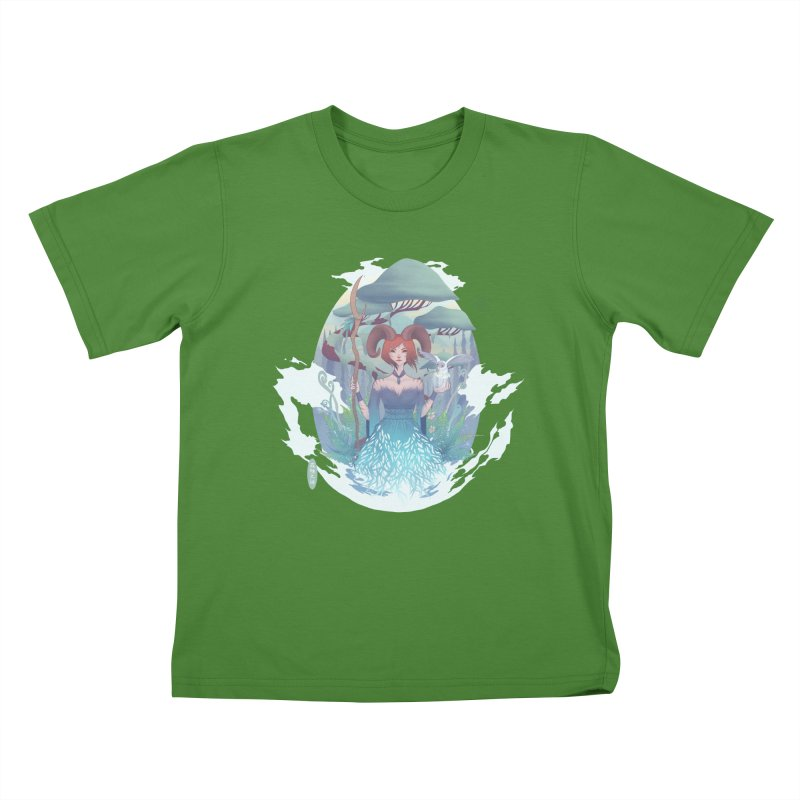 Guardian of the Forest Kids T-Shirt by cherished