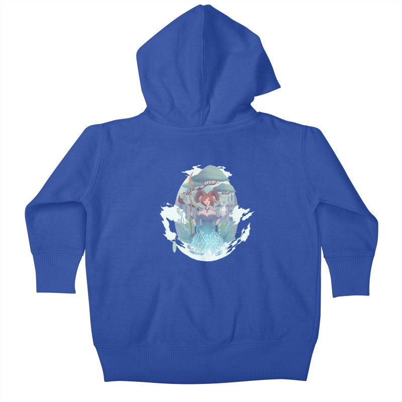 Guardian of the Forest Kids Baby Zip-Up Hoody by cherished