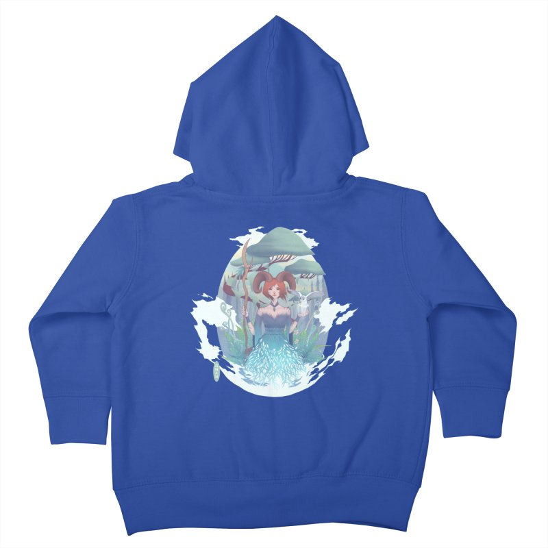 Guardian of the Forest Kids Toddler Zip-Up Hoody by cherished