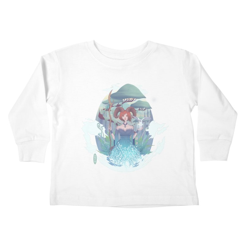 Guardian of the Forest Kids Toddler Longsleeve T-Shirt by cherished