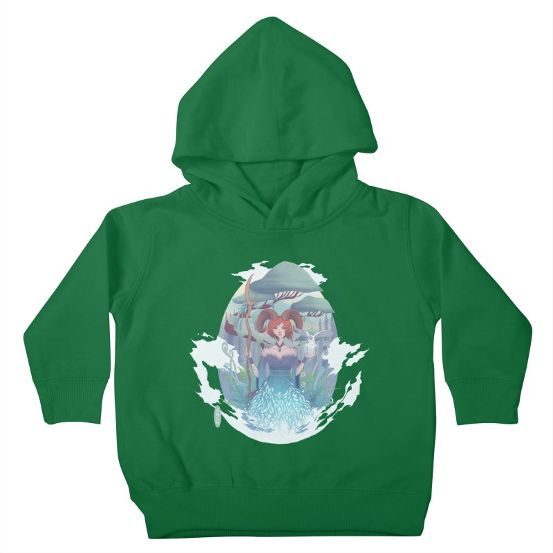 Guardian of the Forest Kids Toddler Pullover Hoody by cherished