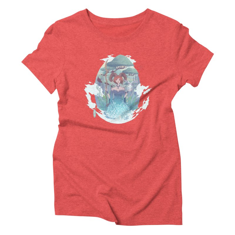 Guardian of the Forest Women's Triblend T-Shirt by cherished