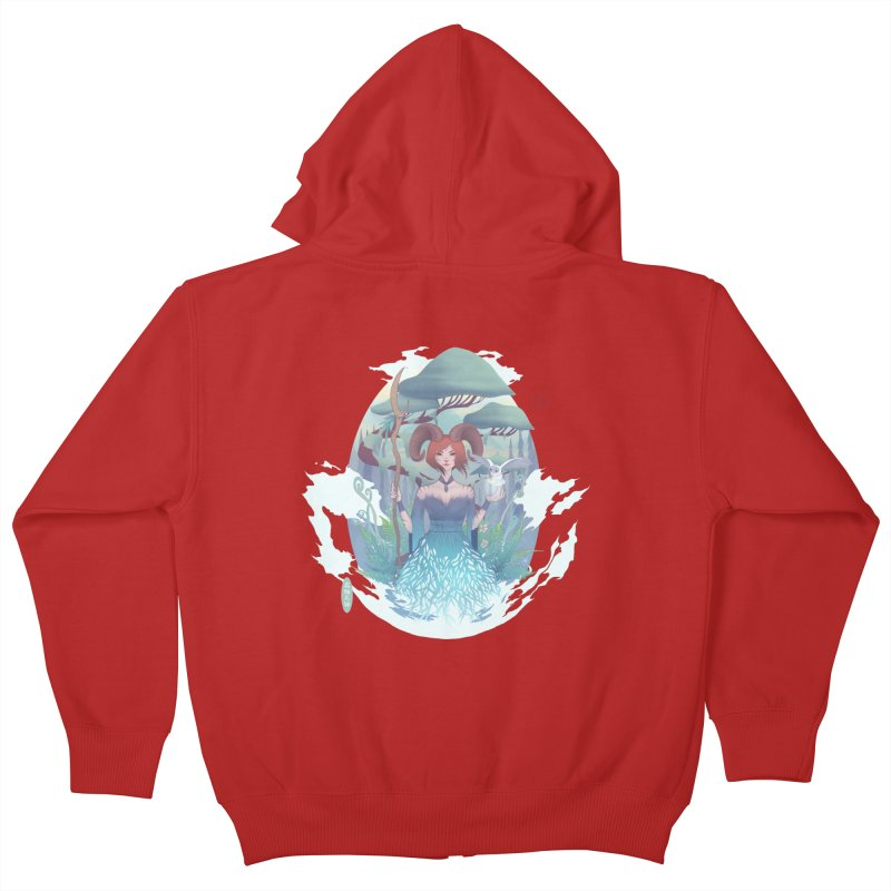 Guardian of the Forest Kids Zip-Up Hoody by cherished