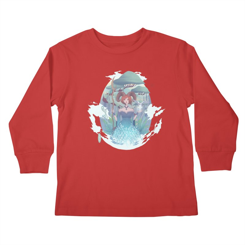 Guardian of the Forest Kids Longsleeve T-Shirt by cherished