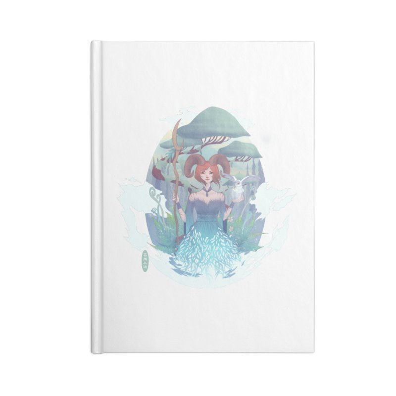 Guardian of the Forest Accessories Notebook by cherished