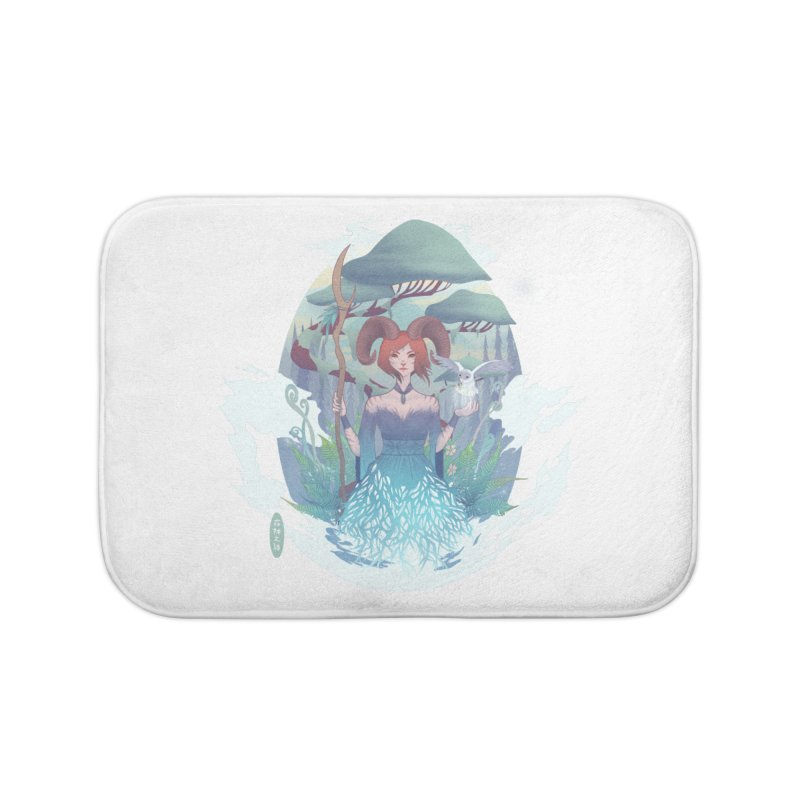 Guardian of the Forest Home Bath Mat by cherished