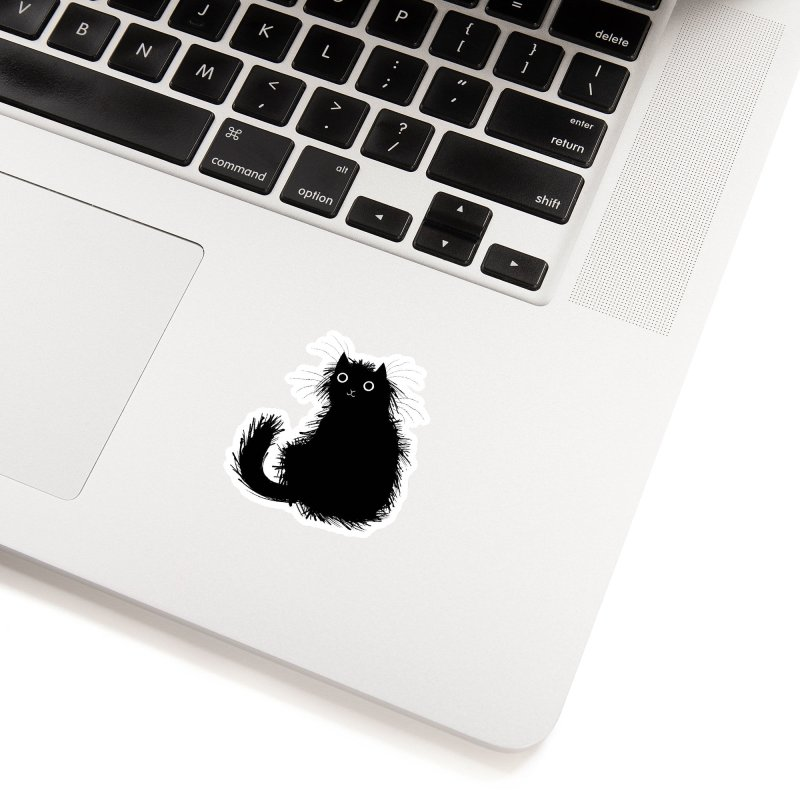 Moggy (No.1) Accessories Sticker by iota illustration's Artist Shop