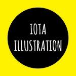 Logo for iota illustration's Artist Shop