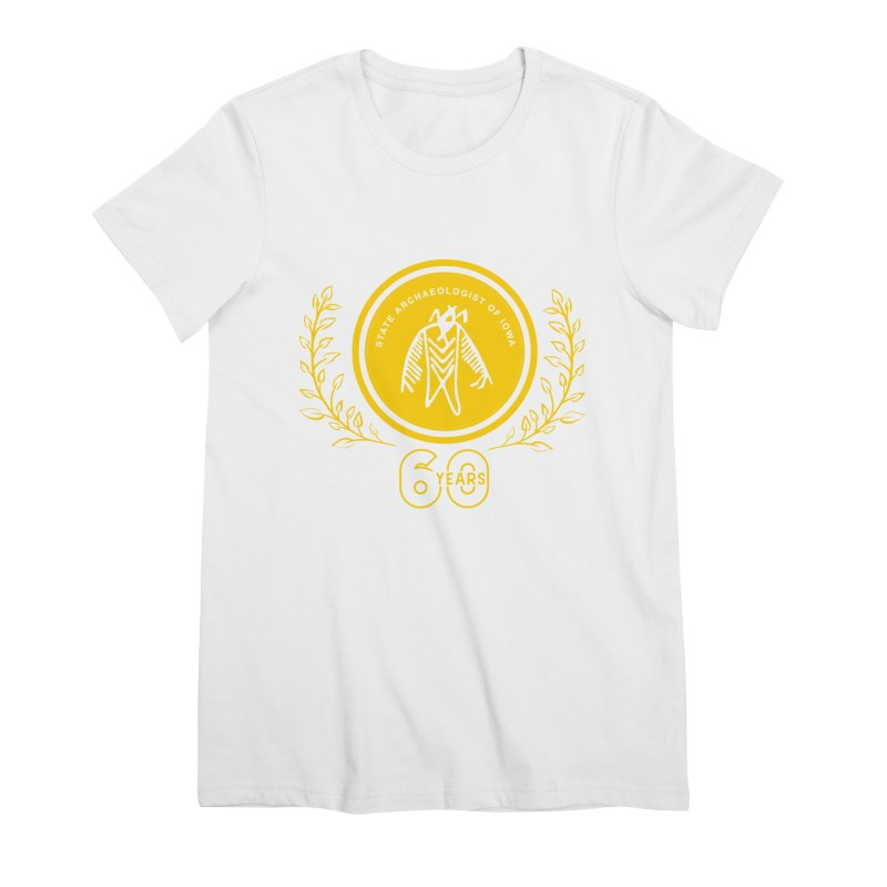 OSA 60th Anniversary Women's Premium T-Shirt by Iowa Archaeology Gifts, Prints, & Apparel