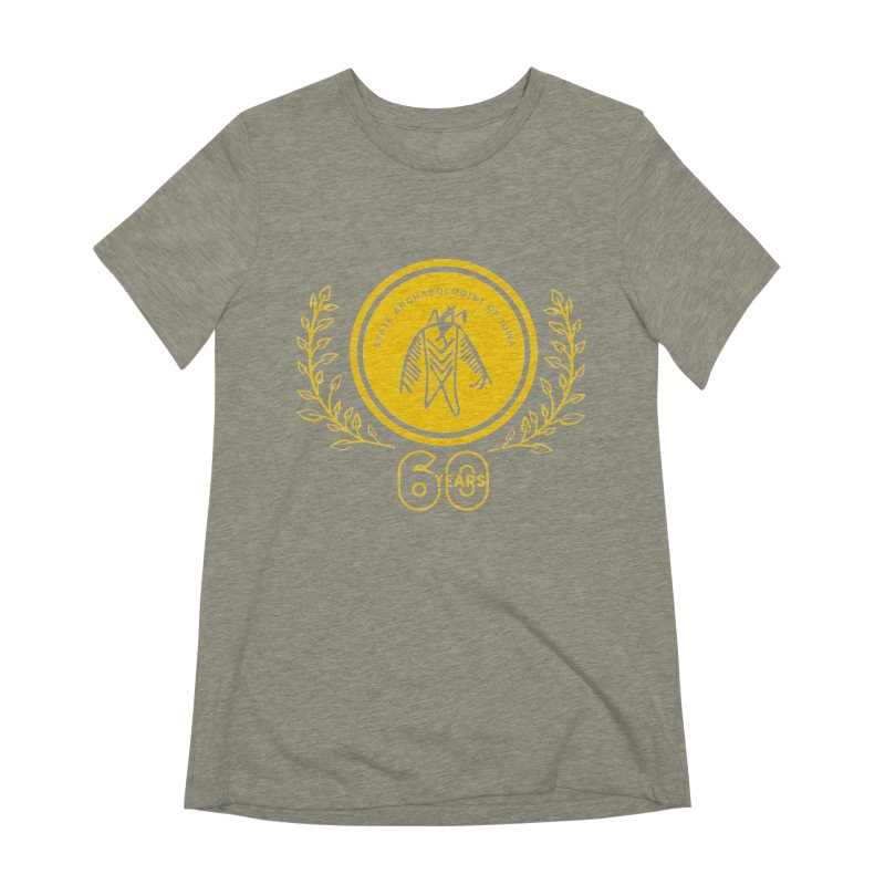 OSA 60th Anniversary Women's Extra Soft T-Shirt by Iowa Archaeology Gifts, Prints, & Apparel