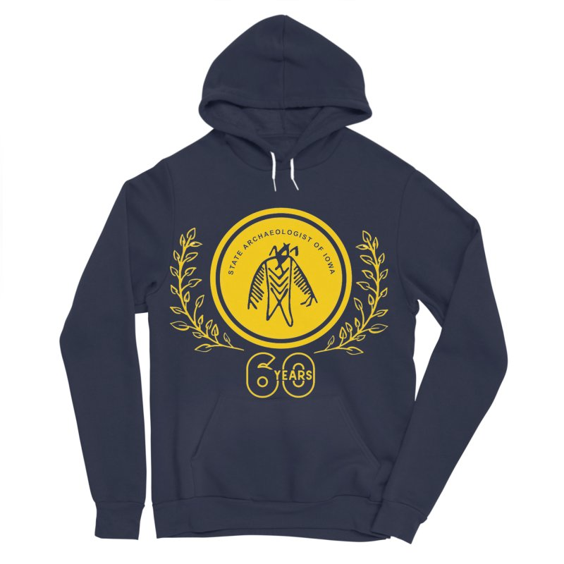 OSA 60th Anniversary Women's Sponge Fleece Pullover Hoody by Iowa Archaeology Gifts, Prints, & Apparel