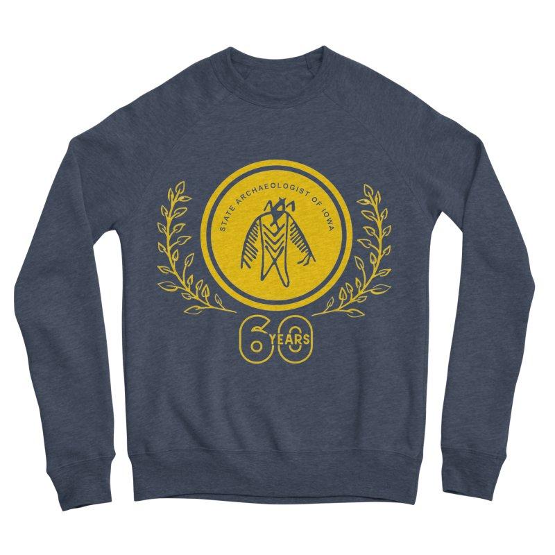 OSA 60th Anniversary Men's Sponge Fleece Sweatshirt by Iowa Archaeology Gifts, Prints, & Apparel