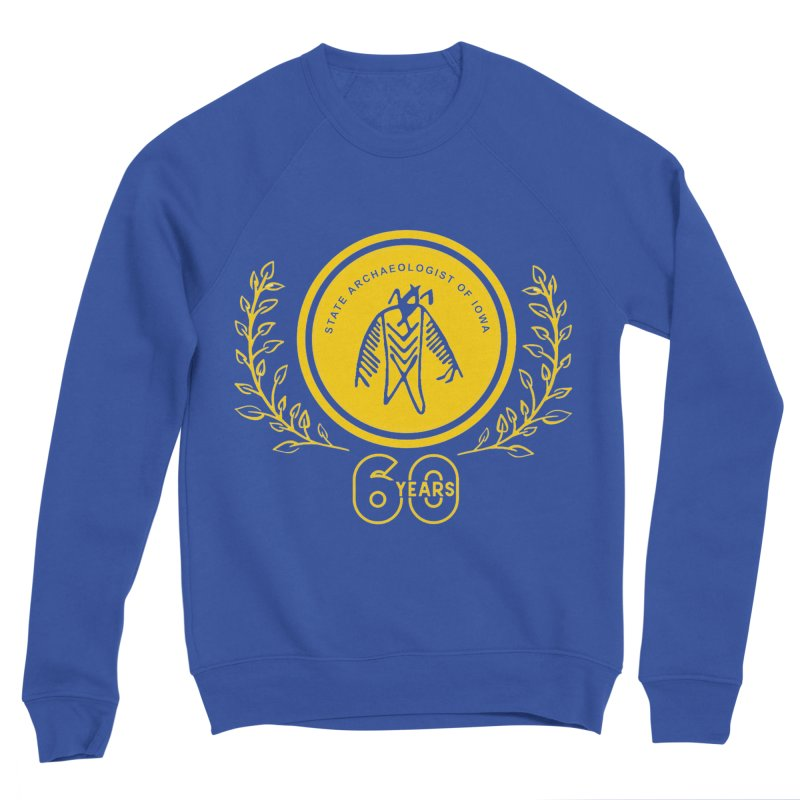 OSA 60th Anniversary Men's Sweatshirt by Iowa Archaeology Gifts, Prints, & Apparel