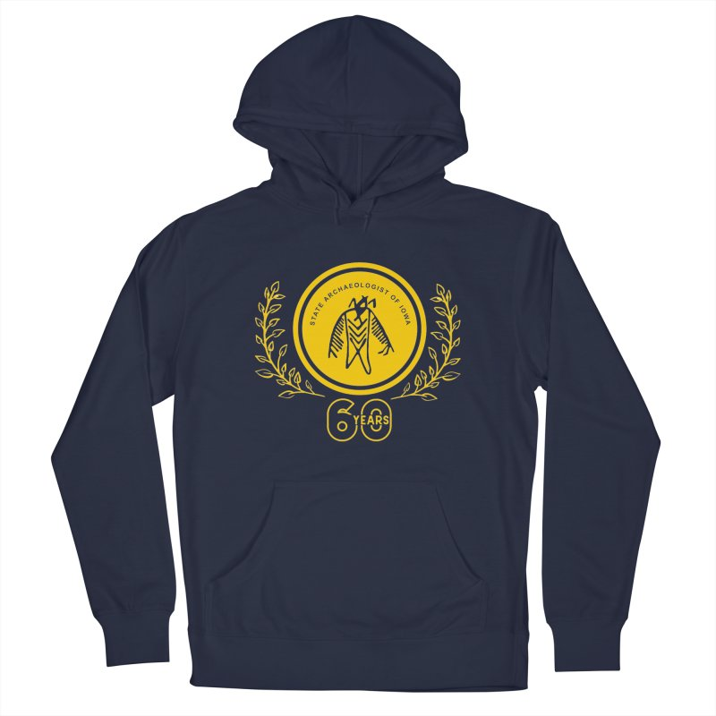 OSA 60th Anniversary Men's Pullover Hoody by Iowa Archaeology Gifts, Prints, & Apparel