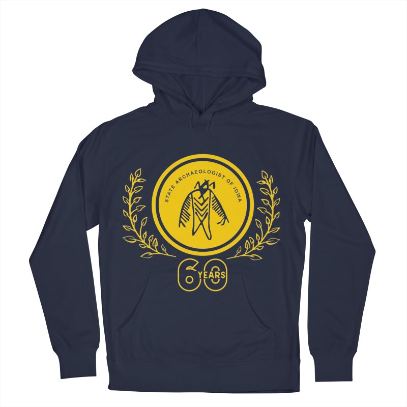 OSA 60th Anniversary Women's French Terry Pullover Hoody by Iowa Archaeology Gifts, Prints, & Apparel